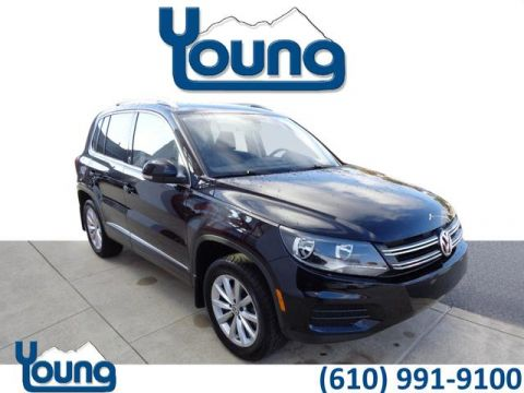Pre-Owned 2017 Volkswagen Tiguan 2.0T Wolfsburg Edition 4Motion